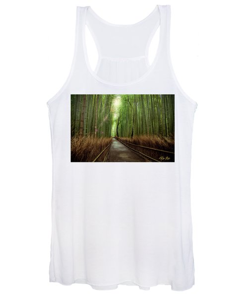 Afternoon In The Bamboo Women's Tank Top