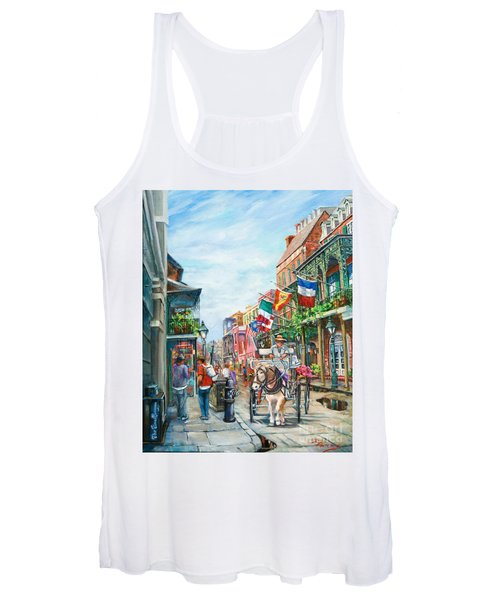 Afternoon On St. Ann Women's Tank Top
