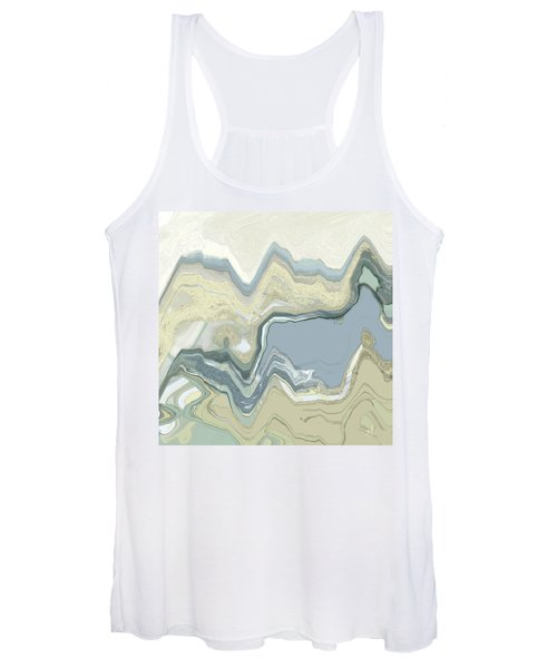Women's Tank Top featuring the digital art Agate by Gina Harrison