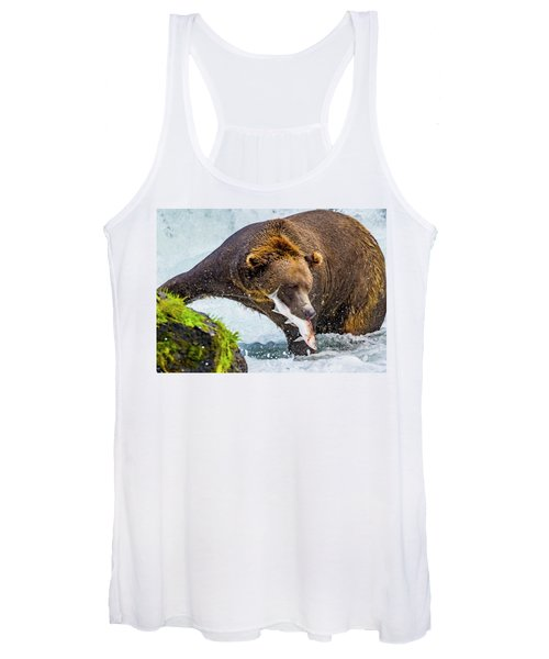 Alaska Brown Bear Women's Tank Top