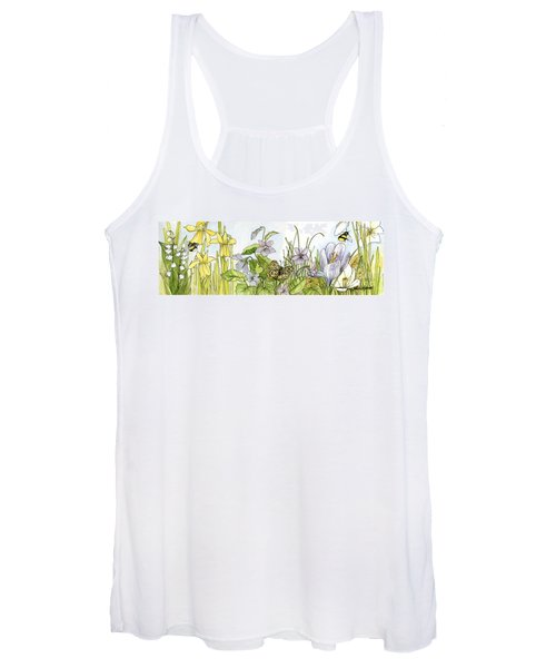 Alive In A Spring Garden Women's Tank Top