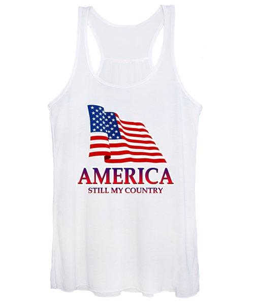 United States Of America Design - Still My Country Women's Tank Top