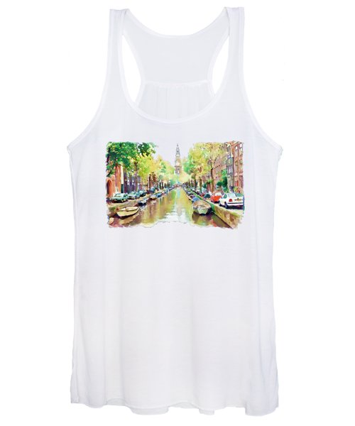 Amsterdam Canal 2 Women's Tank Top