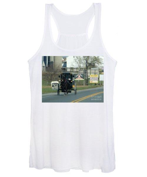 An Evening Ride Women's Tank Top