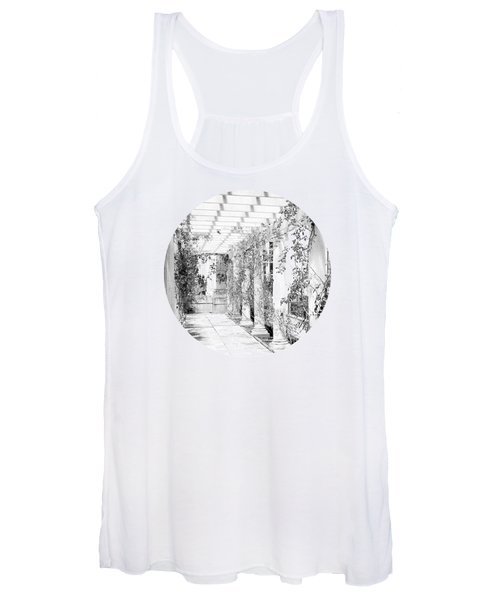 An Eye For Beauty- Black And White Version Women's Tank Top