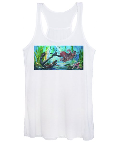 Anchors Away Women's Tank Top
