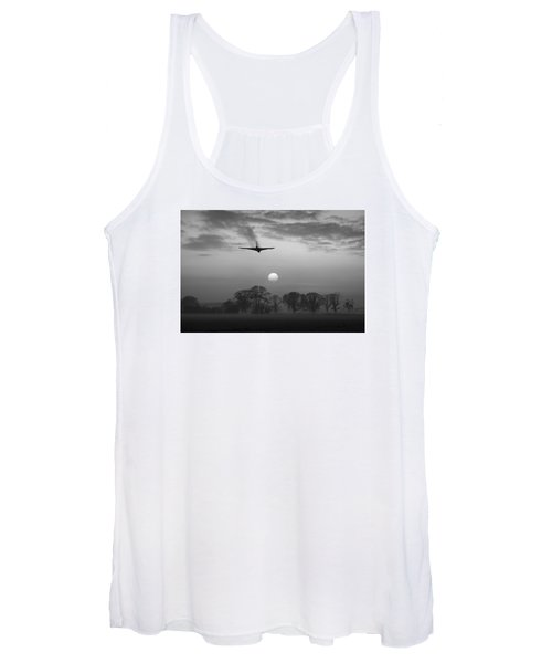 And Finally Black And White Version Women's Tank Top