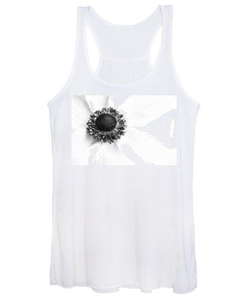 Anemone Bloom Women's Tank Top