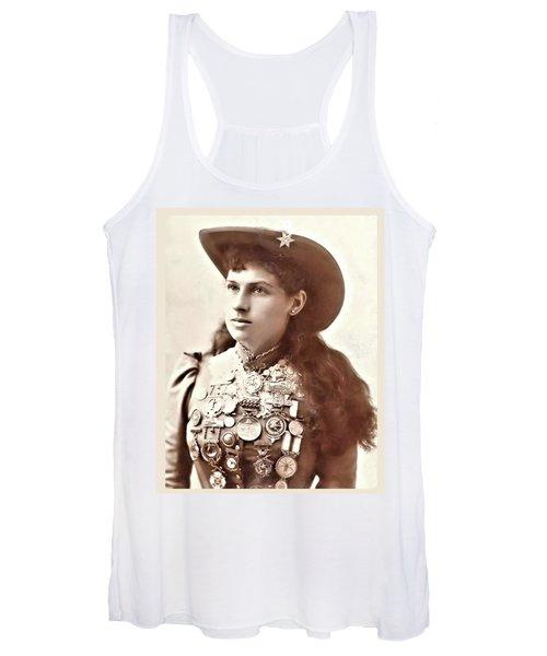 Annie Oakley 1 Women's Tank Top