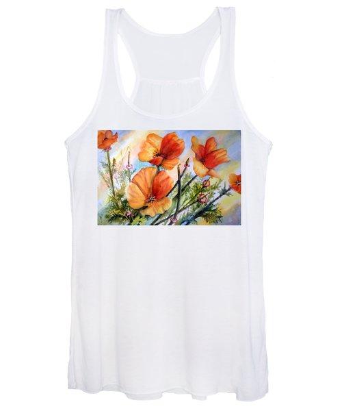 Antelope Valley Poppy Fields Women's Tank Top