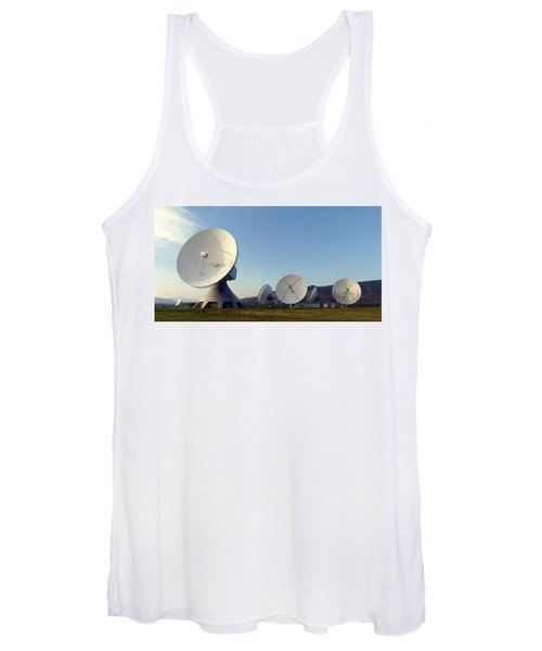 Antenna Array 2 Of The Earth Station  Women's Tank Top
