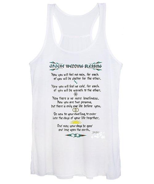 Apache Wedding Blessing Women's Tank Top