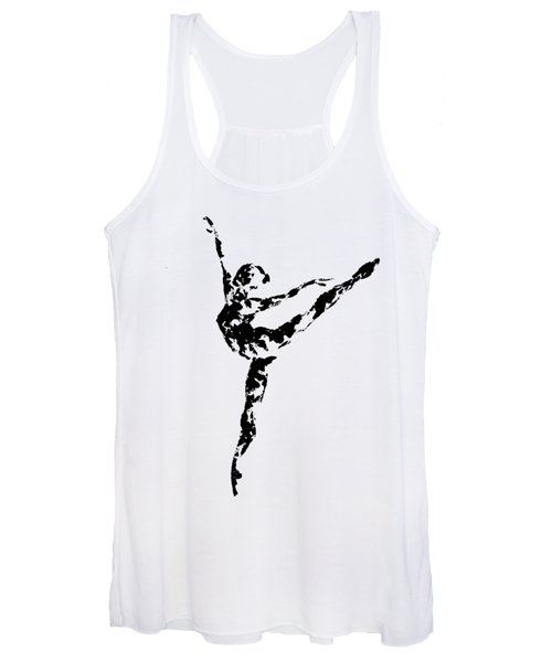 Arabesque - Transparent Background Women's Tank Top