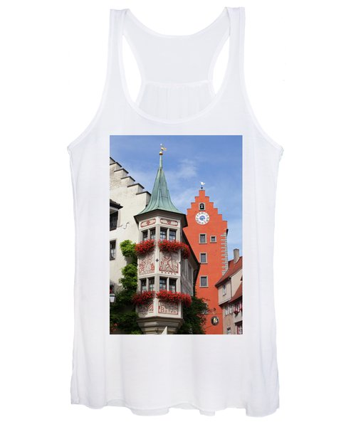 Architectural Details In Old City Women's Tank Top