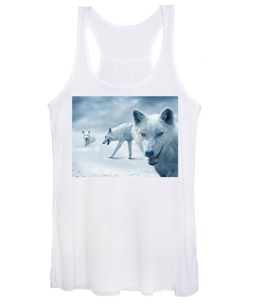 Arctic Wolves Women's Tank Top