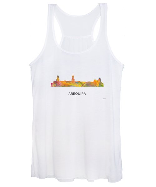 Arequipa Peru Skyline Women's Tank Top