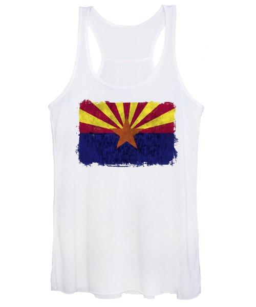 Arizona Flag Women's Tank Top