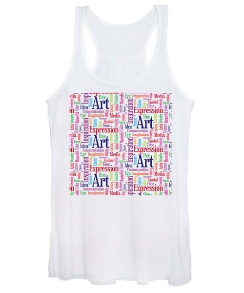 Art And Inspiration Pattern Women's Tank Top