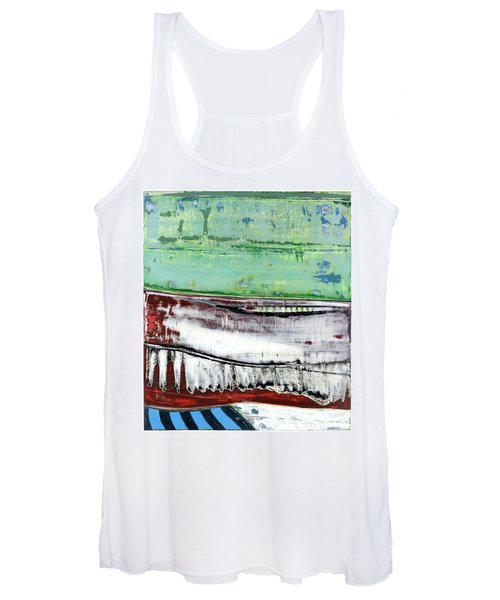 Art Print Abstract 97 Women's Tank Top