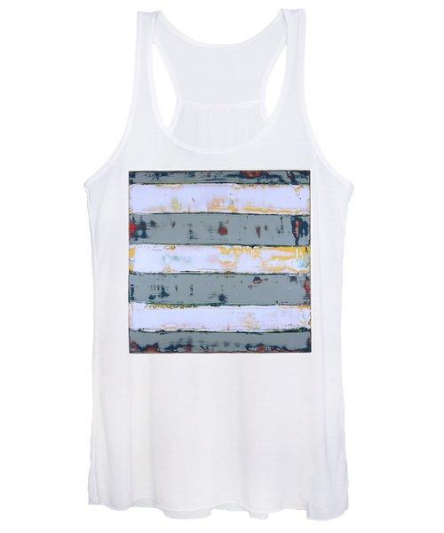Art Print Stripes Women's Tank Top