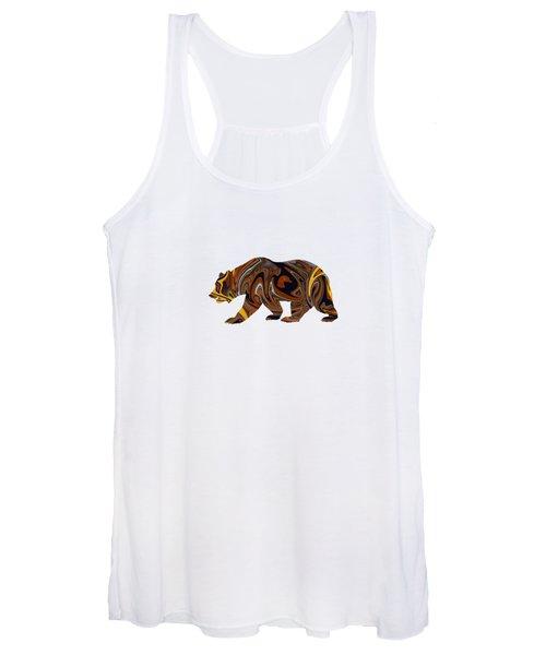 Artful Bear Women's Tank Top
