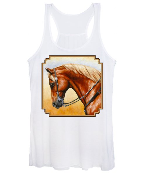 Precision - Horse Painting Women's Tank Top
