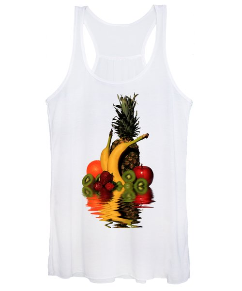 Women's Tank Top featuring the photograph Fruity Reflections - Light by Shane Bechler