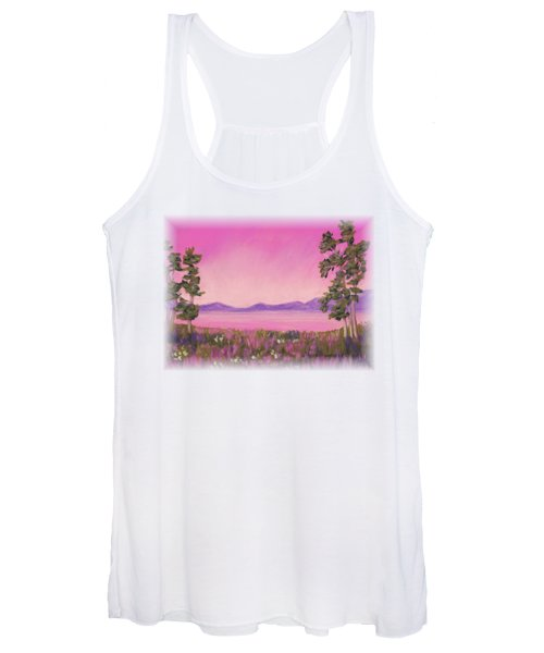 Evening In Pink Women's Tank Top