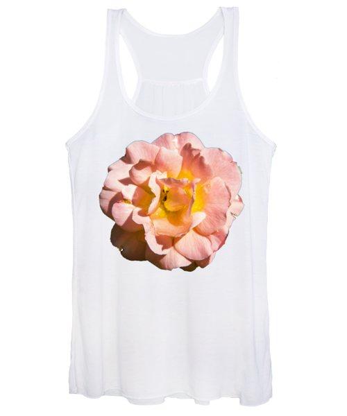 Peach Rose Women's Tank Top