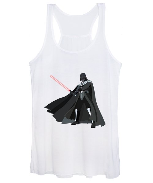 Darth Vader Star Wars Character Quotes Poster Women's Tank Top