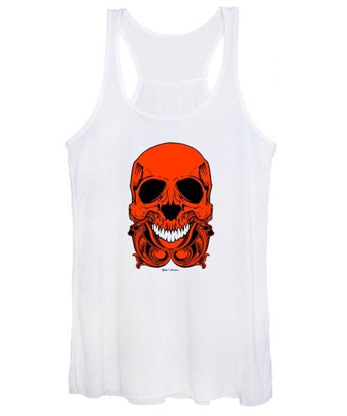 Red Skull  Women's Tank Top