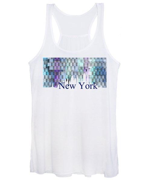 New York Blue Shadows, Women's Tank Top