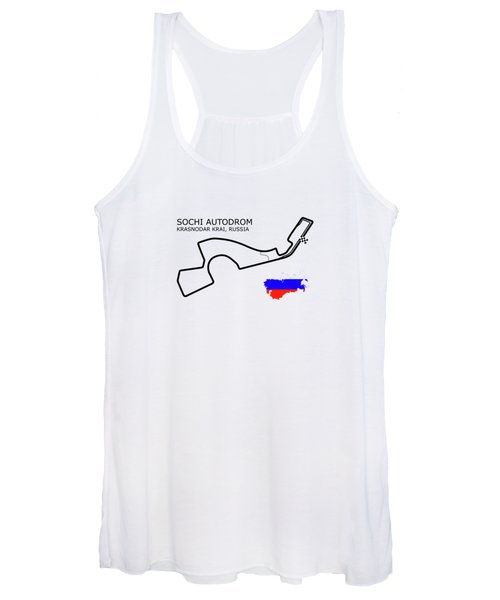 The Sochi Autodrom Women's Tank Top