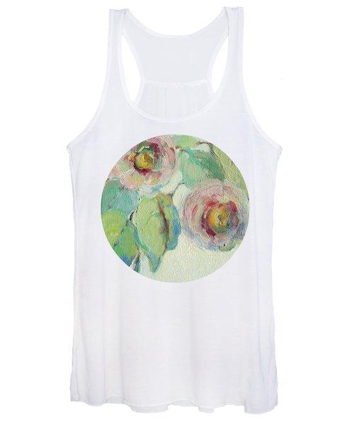 Impressionist Roses  Women's Tank Top