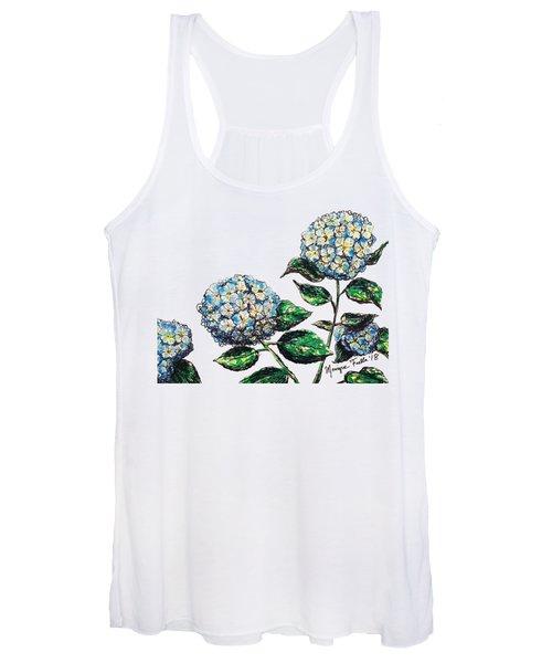 Hydrangeas Women's Tank Top