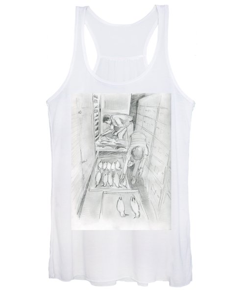 At The Museum I Women's Tank Top
