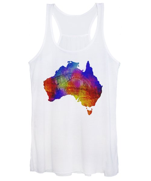 Australia And Sydney Harbour Bridge By Kaye Menner Women's Tank Top