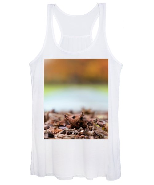 Autumn Abstract Women's Tank Top