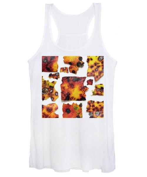 Autumn Color Leaves Women's Tank Top