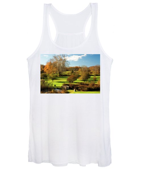 Autumn In The Park Women's Tank Top