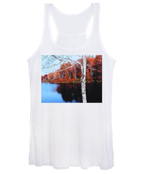 Autumn Lake Women's Tank Top