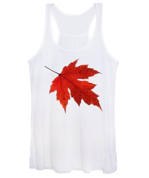 Autumn Leaf 2 Women's Tank Top