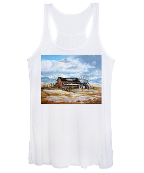 Autumn Slips Away Women's Tank Top