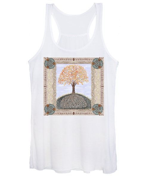 Autumn Tree Of Life Women's Tank Top