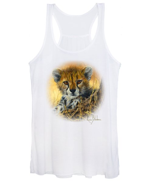 Baby Cheetah  Women's Tank Top