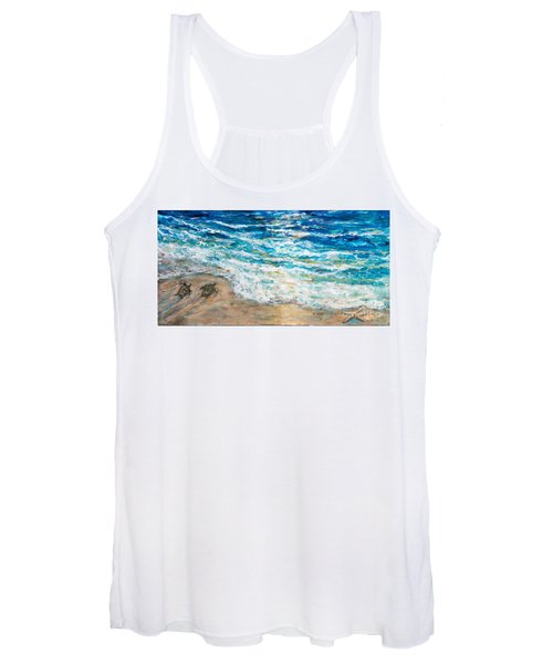 Baby Sea Turtles Iv Women's Tank Top