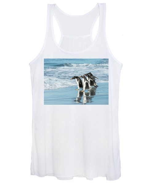 Back To The Sea. Women's Tank Top