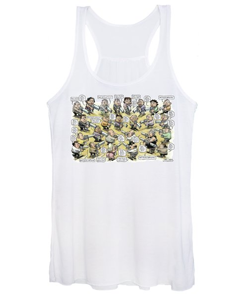 Bad Guys Watch Out Women's Tank Top