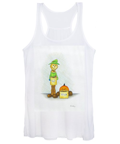 Baggs And Boo Treat Or Trick Women's Tank Top