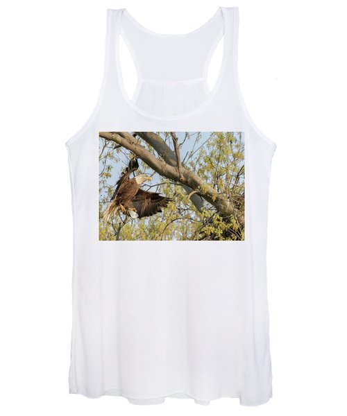 Bald Eagle Catch Of The Day  Women's Tank Top